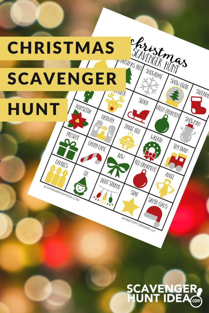 Christmas Scavenger Hunt by ScavengerHuntIdea.com