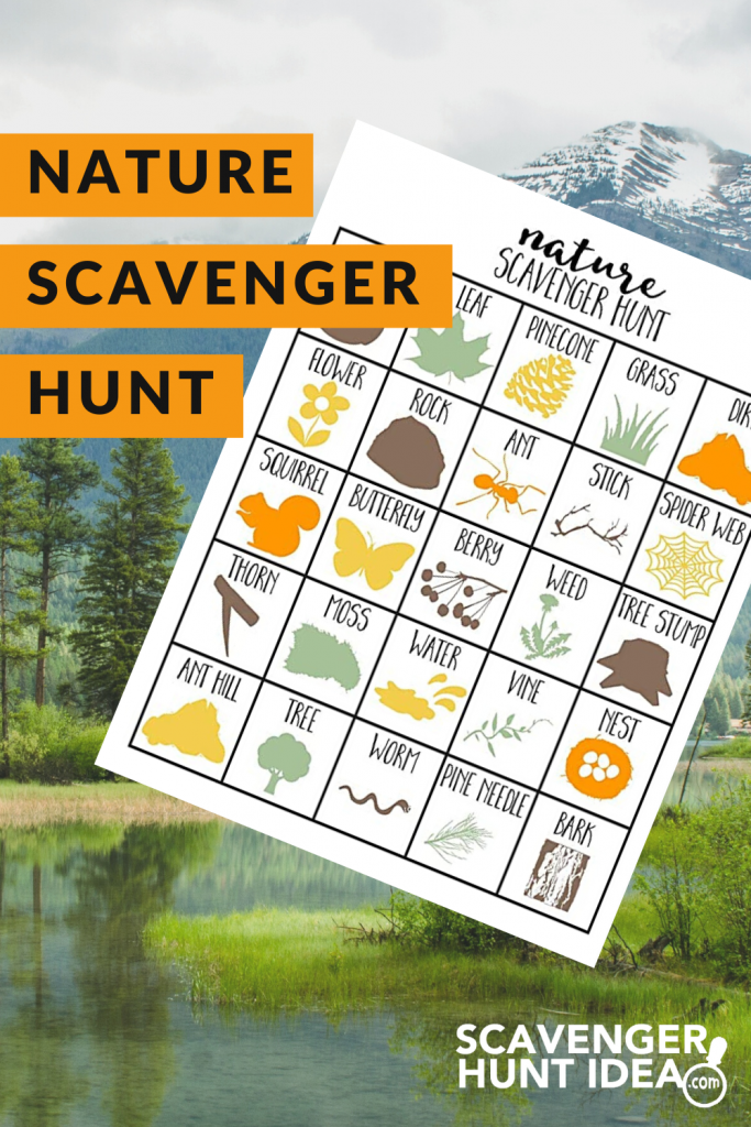Nature Scavenger Hunt - Ready to let your children explore the outdoors? Learn how to go on a nature scavenger hunt with the whole family.