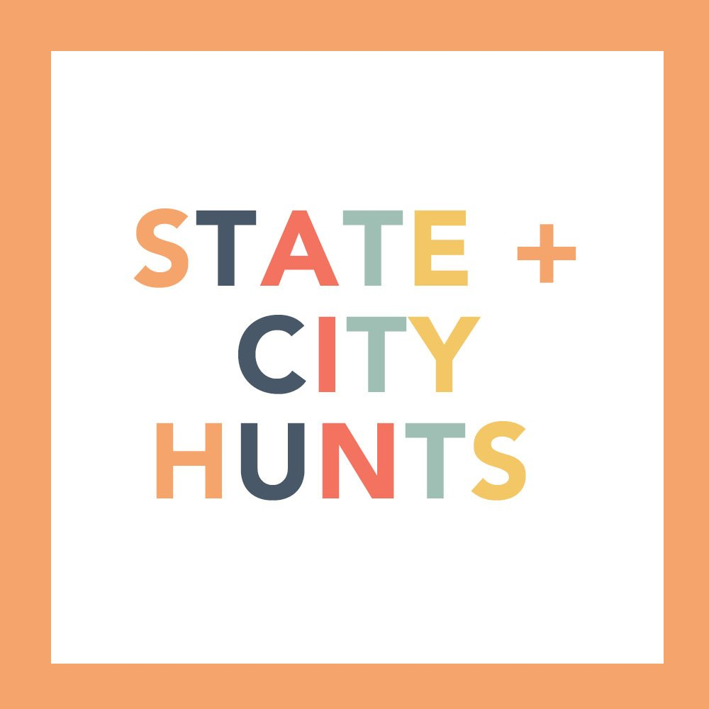State Scavenger Hunt Ideas and City Scavenger Hunt Ideas