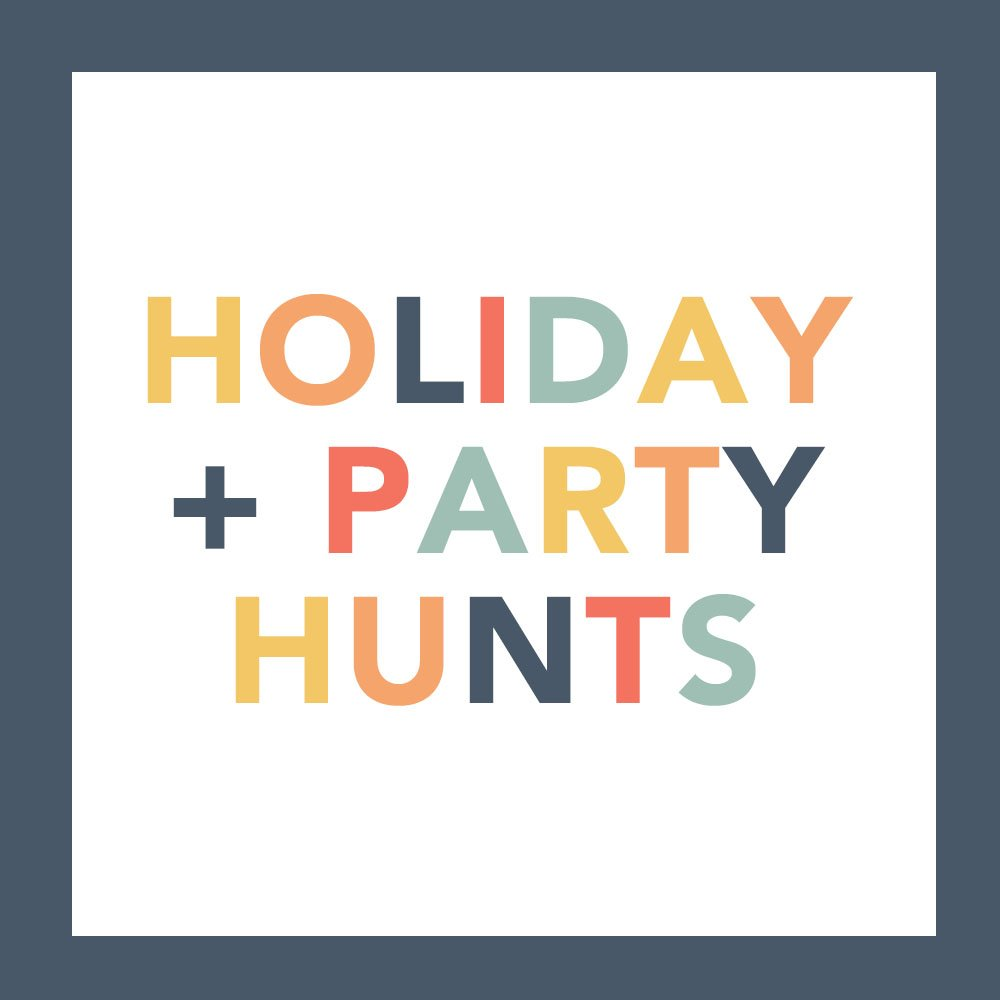 Holiday Scavenger Hunt Ideas and Party Scavenger Hunt Ideas