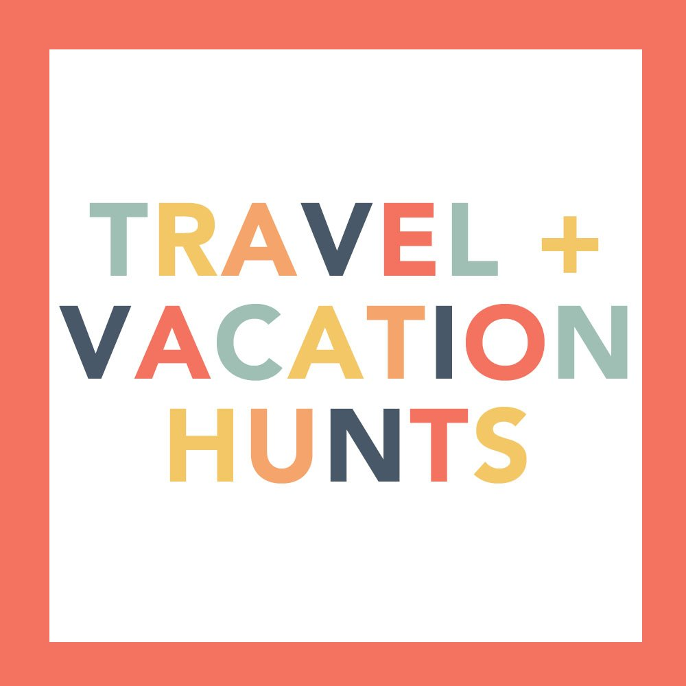 Travel Scavenger Hunt Ideas and Vacation Scavenger Hunt Ideas