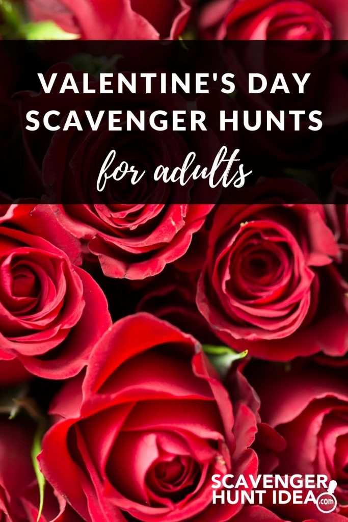 Perfect for date night, these 5 Valentine's Scavenger Hunts for Adults are a fun alternative to the typical dinner and a movie.