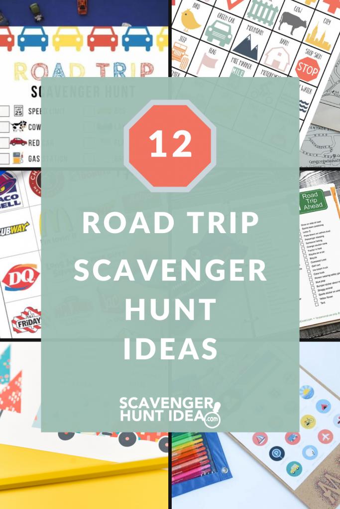 12 road trip scavenger hunt ideas for kids - Travel Scavenger Hunt Ideas