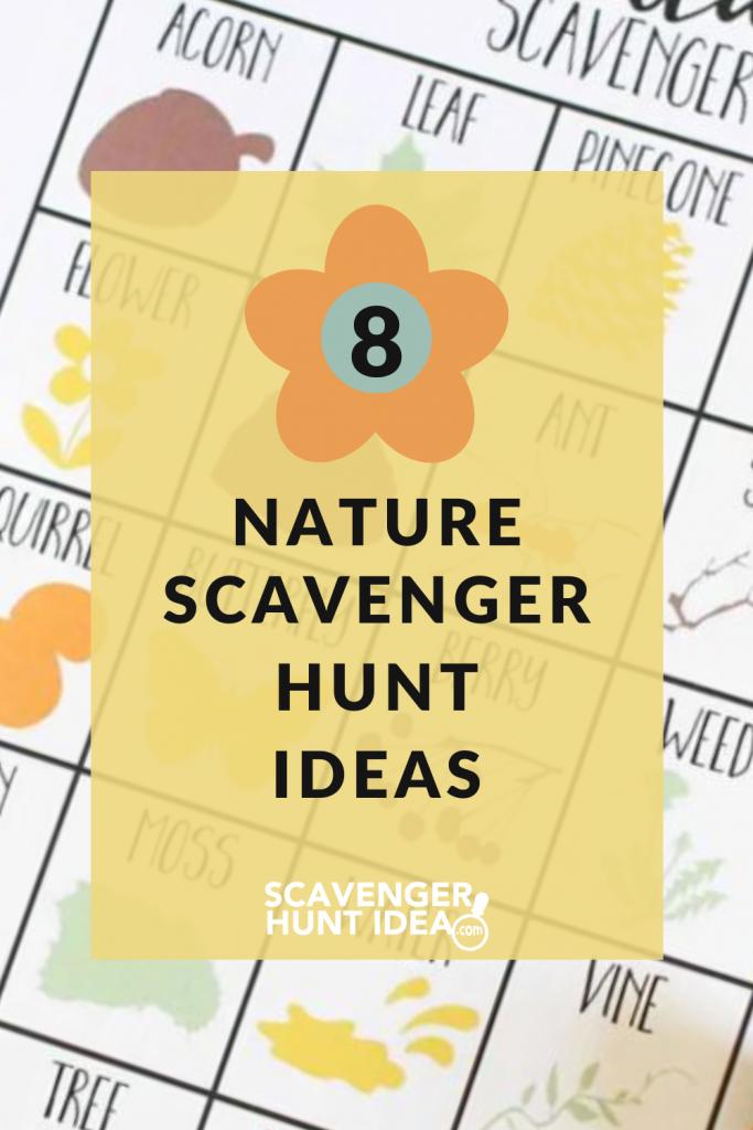 8+ scavenger hunt ideas