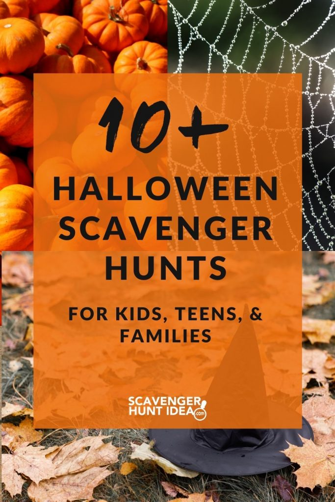 10 Halloween Scavenger Hunt Ideas for Your Kids and Families